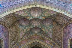 Moschea di Al-Mulk di Nasir Fotografia Stock Libera da Diritti
