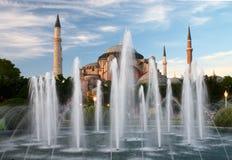 Moschea di Ayasofya a Costantinopoli, Turchia immagini stock
