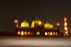 Moschea di Badshahi Immagini Stock