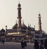 Moschea di Bara Imambara, Lucknow fotografia stock