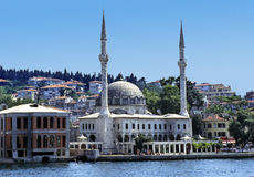 Moschea di Bosphorus Fotografie Stock Libere da Diritti