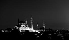 Moschea di Costantinopoli Immagini Stock