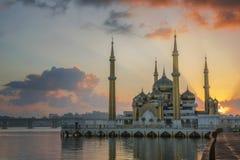 Moschea di cristallo Immagini Stock