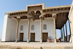 Moschea di djuma di Djami a Buchara fotografie stock libere da diritti
