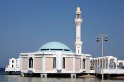 Moschea di galleggiamento Fotografie Stock