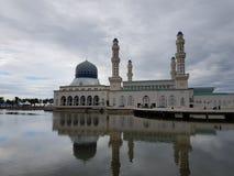 Moschea di galleggiamento Fotografia Stock