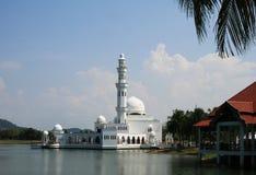 Moschea di galleggiamento - Masjid Terapung fotografie stock libere da diritti