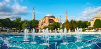 Moschea di Hagia Sophia a Costantinopoli Immagini Stock Libere da Diritti