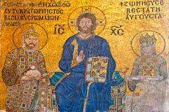 Moschea di Hagia Sophia, Costantinopoli, Turke Fotografia Stock Libera da Diritti