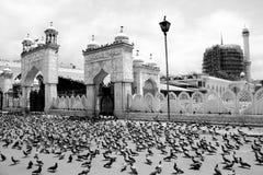 Moschea di Hazratbal a Srinagar Fotografie Stock