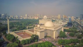 Moschea di Istiqlal, Jakarta l'indonesia immagine stock libera da diritti