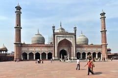 Moschea di Jama Masjid Immagini Stock
