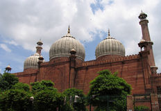 Moschea di Jama Masjid, Delhi, India Immagine Stock