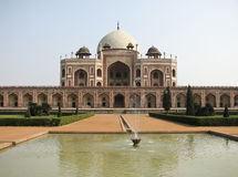 Moschea di Jama Masjid a Delhi India Fotografia Stock Libera da Diritti