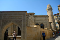 Moschea di Juma, Bacu, Azerbaigian immagini stock