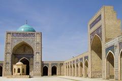 Moschea di Kalon a Buchara Fotografia Stock
