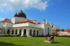 Moschea di Kapitan Keling Fotografia Stock