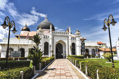 Moschea di Kapitan Keling a Penang Malesia Immagini Stock Libere da Diritti
