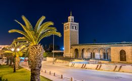 Moschea di Kasbah, un monumento storico a Tunisi La Tunisia, Nord Africa immagini stock