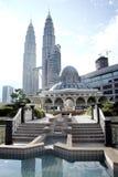Moschea di KLCC Fotografie Stock