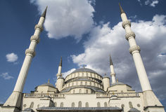 Moschea di Kocatepe, Ankara, Turchia Immagine Stock Libera da Diritti