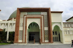 Moschea di Kuala Lumpur Air Force Base (moschea dell'aeronautica) Fotografie Stock
