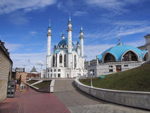 Moschea di Kul-Sharif in Cremlino di Kazan immagine stock