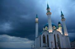 Moschea di Kul Sharif a Kazan Kre Fotografia Stock