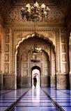 Moschea di Lahore Fotografia Stock