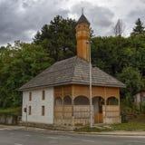 Moschea di legno, Jajce, Bosnia-Erzegovina Immagini Stock Libere da Diritti