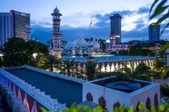 Moschea di Masjid Jamek a Kuala Lumpur fotografia stock libera da diritti
