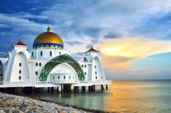 Moschea di Masjid Selat Fotografie Stock
