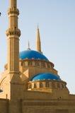 Moschea di Mohammad Al-Amin Fotografie Stock Libere da Diritti