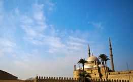 Moschea di Muhammad Ali Fotografia Stock Libera da Diritti