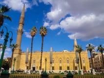 Moschea di Muhammad Ali a Il Cairo, Egitto fotografia stock libera da diritti