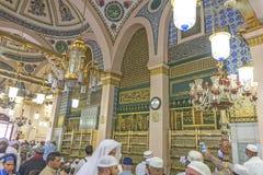 Moschea di Nabawi Fotografie Stock Libere da Diritti