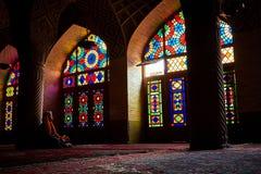 Moschea di Nasir-Ol-Molk Fotografie Stock Libere da Diritti