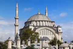 Moschea di Nuruosmaniye Immagine Stock
