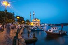 Moschea di Ortaköy Fotografie Stock Libere da Diritti