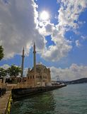 Moschea di Ortakoy, Costantinopoli Immagine Stock