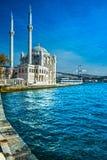 Moschea di Ortakoy, Costantinopoli, Turchia Immagine Stock