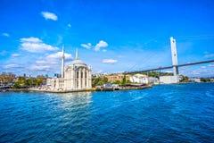 Moschea di Ortakoy, Costantinopoli, Turchia Immagini Stock