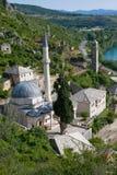 Moschea di Pocitelj Fotografia Stock Libera da Diritti