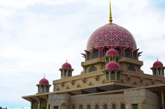 Moschea di Putra Fotografie Stock
