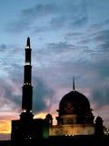 Moschea di Putra Jaya Immagini Stock Libere da Diritti