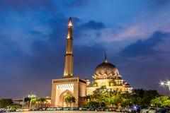 Moschea di Putrajaya Fotografie Stock Libere da Diritti