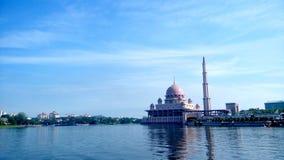 Moschea di Putrajaya fotografia stock libera da diritti