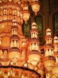 Moschea di Qaboos del sultano grande Fotografia Stock
