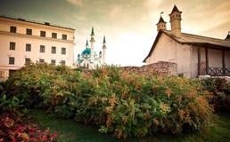Moschea di Qolsharif a Kazan Kremlin, Russia Fotografia Stock