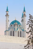 Moschea di Qolsharif a Kazan Kremlin, Russia Immagini Stock Libere da Diritti